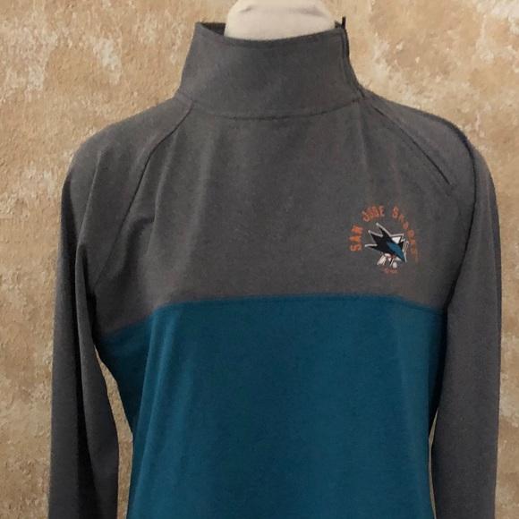 de8e4e5f0 NHL Official San Jose Sharks Women s Sweatshirt L
